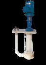 Pompe verticale plastique