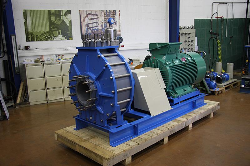 Pompe NP 300-250-400 - Roue hélico-centrifuge en SOMEDUR® DIAM 350mm